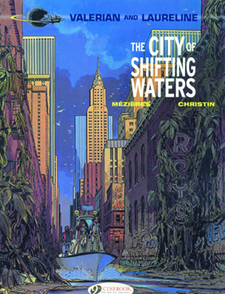 VALERIAN GN VOL 01 CITY OF SHIFTING WATERS