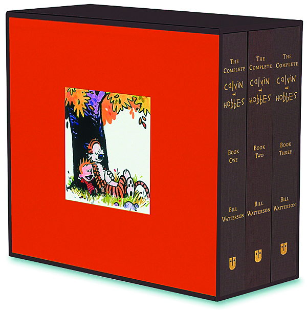 (USE APR053461) COMPLETE CALVIN & HOBBES SLIPCASED HC NEW PT