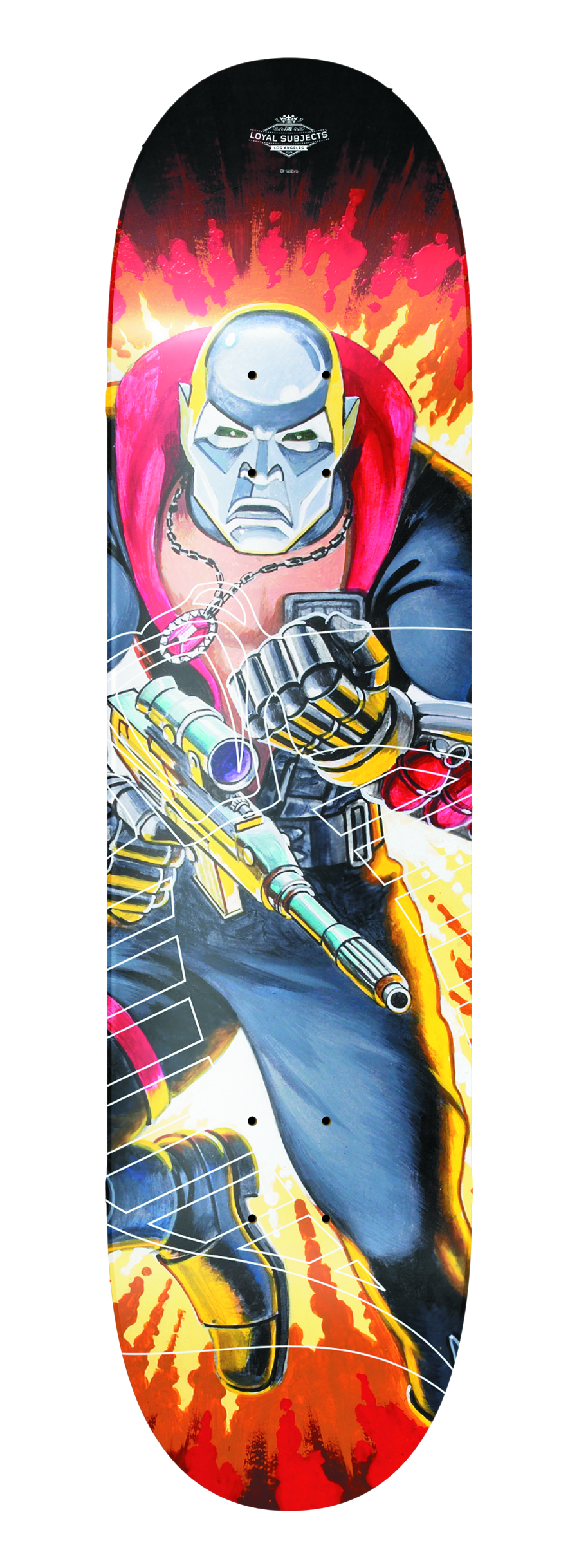 TLS X GI JOE DESTRO SKATEBOARD DECK