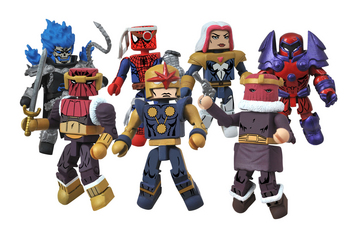 MARVEL MINIMATES SERIES 50 CUSTOM ASST