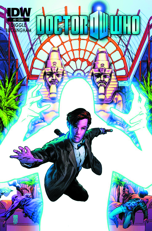 DOCTOR WHO VOL 3 #2 2ND PTG