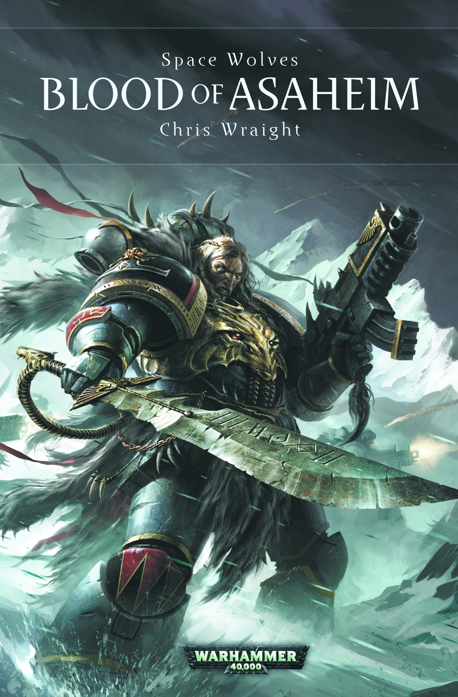 WARHAMMER 40K BLOOD OF ASAHEIM HC