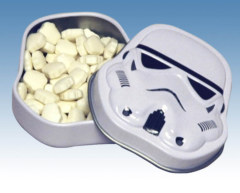 SW STORMTROOPER TINNED MINTS 18-PC DIS