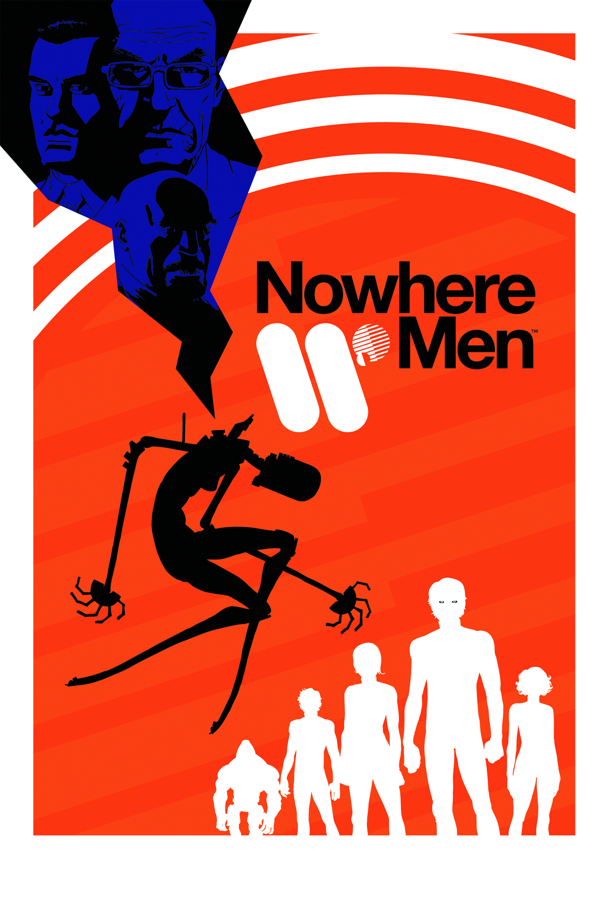 NOWHERE MEN #1 2ND PTG