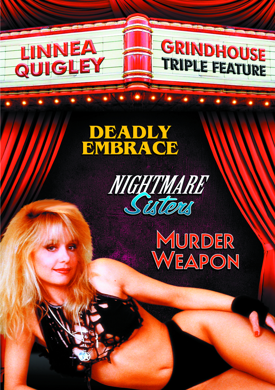 LINNEA QUIGLEY GRINDHOUSE TRIPLE FEATURE DVD