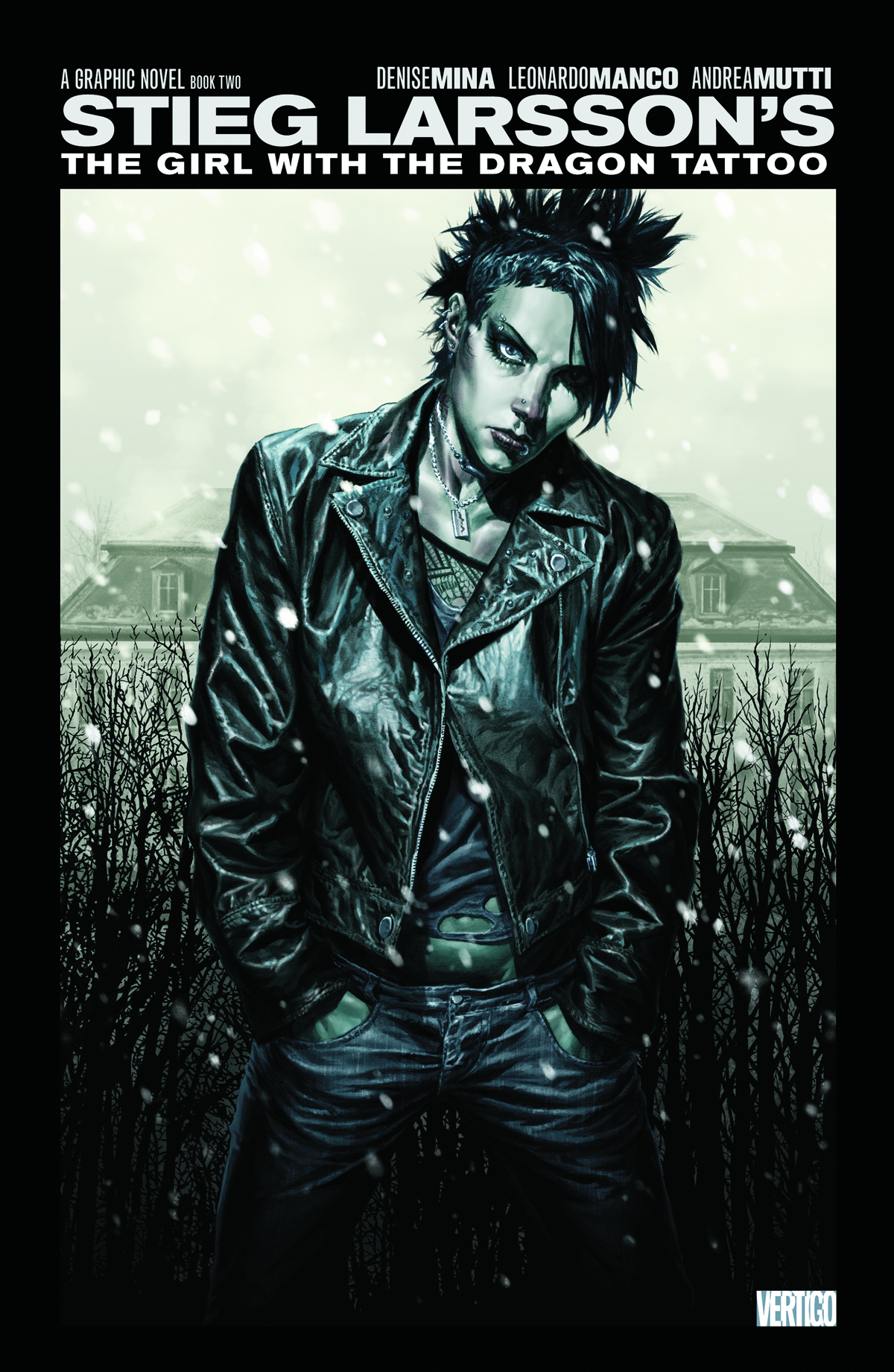 GIRL WITH THE DRAGON TATTOO HC VOL 02