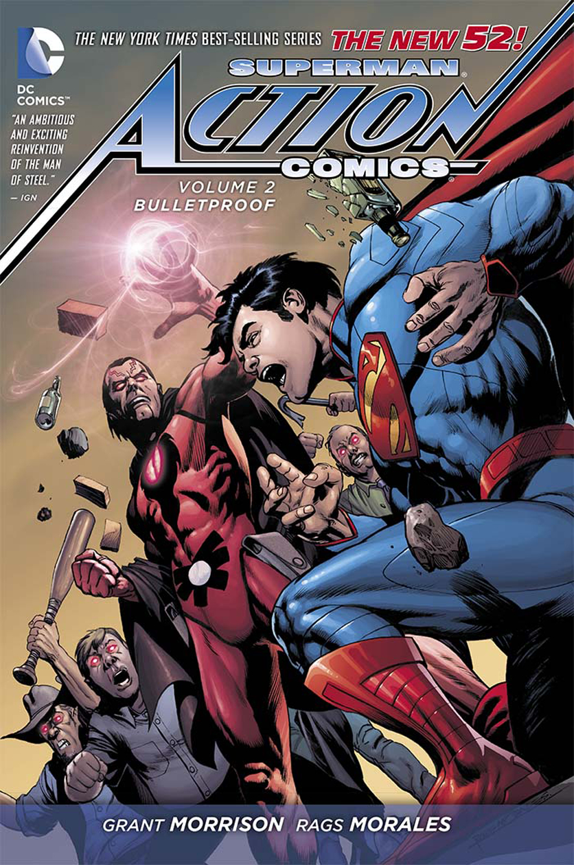 SUPERMAN ACTION COMICS HC VOL 02 BULLETPROOF