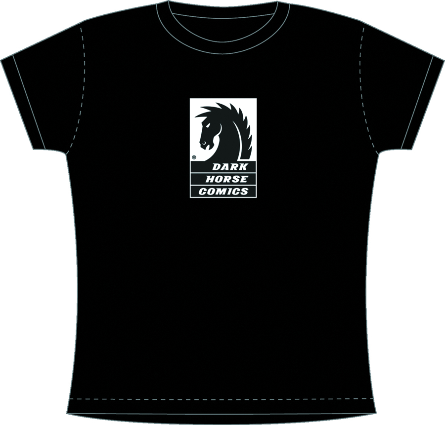 DARK HORSE WOMENS ADULT T/S LG