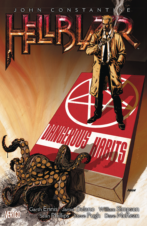 HELLBLAZER TP VOL 05 DANGEROUS HABITS NEW ED