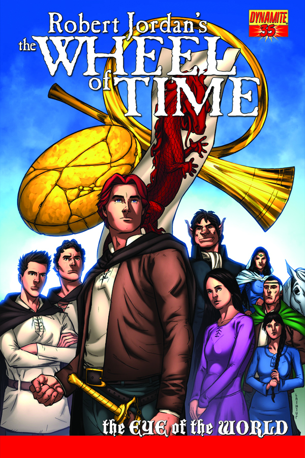 ROBERT JORDAN WHEEL OF TIME EYE O/T WORLD #35