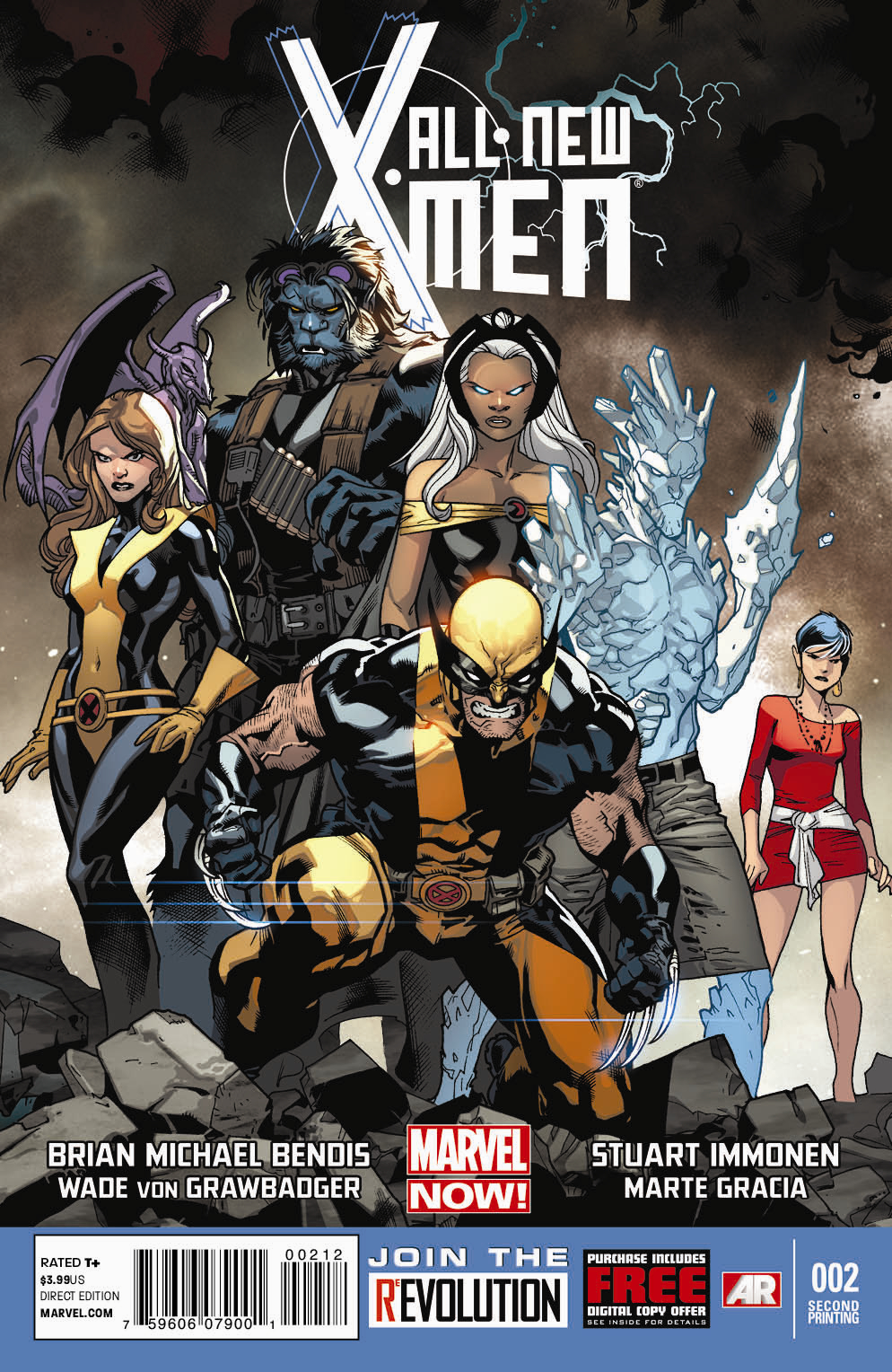 ALL NEW X-MEN #2 2ND PTG IMMONEN VAR NOW