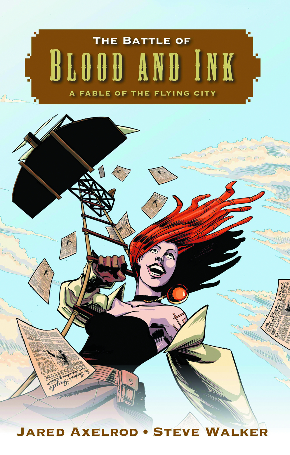 BATTLE OF BLOOD & INK FABLE OF FLYING CITY TP