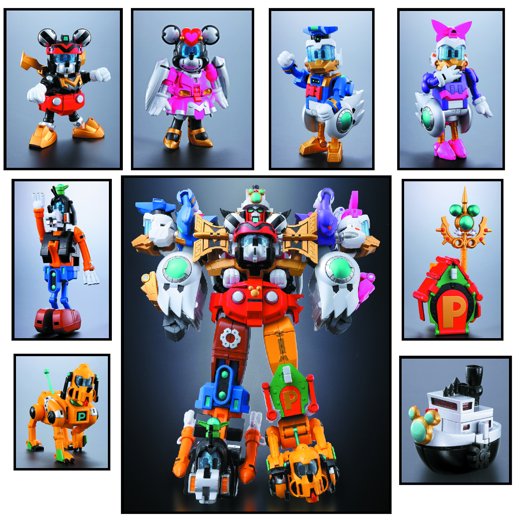 CHO GATTAI KING ROBO MICKEY & FRIENDS CHOGOKIN AF