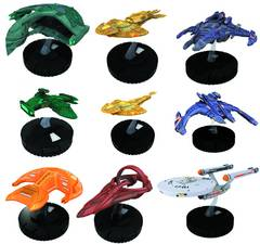 STAR TREK TACTICS HEROCLIX SERIES II 12 CT DISPLAY
