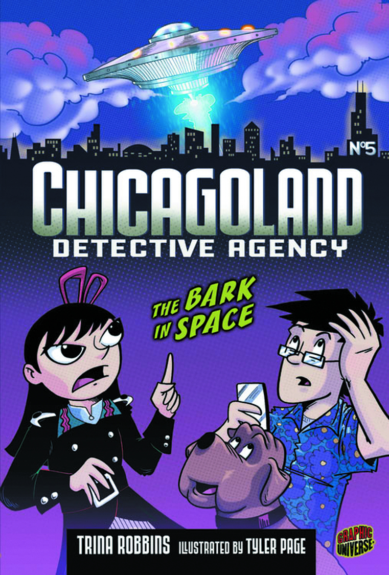 CHICAGOLAND DETECTIVE AGENCY GN VOL 05 BARK IN SPACE