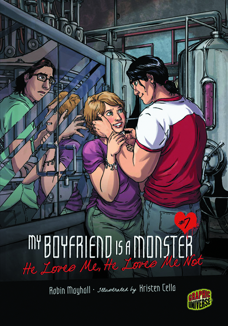 MY BOYFRIEND IS MONSTER GN VOL 07 HE LOVES ME LOVES ME NOT