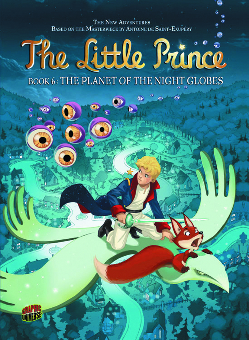 LITTLE PRINCE GN VOL 06 PLANET O/T NIGHT GLOBES