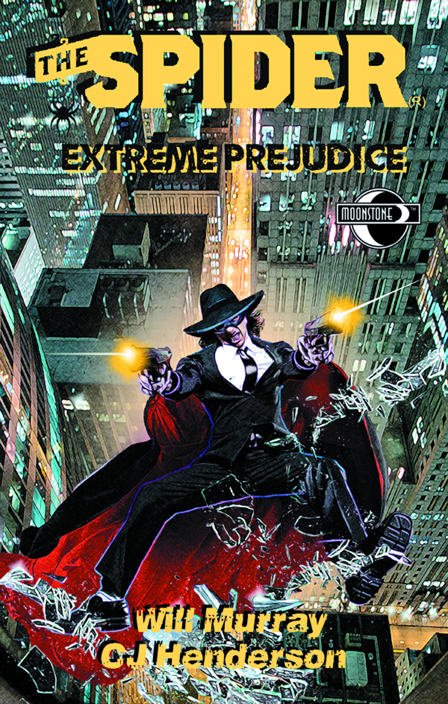 SPIDER EXTREME PREJUDICE NOVEL SC