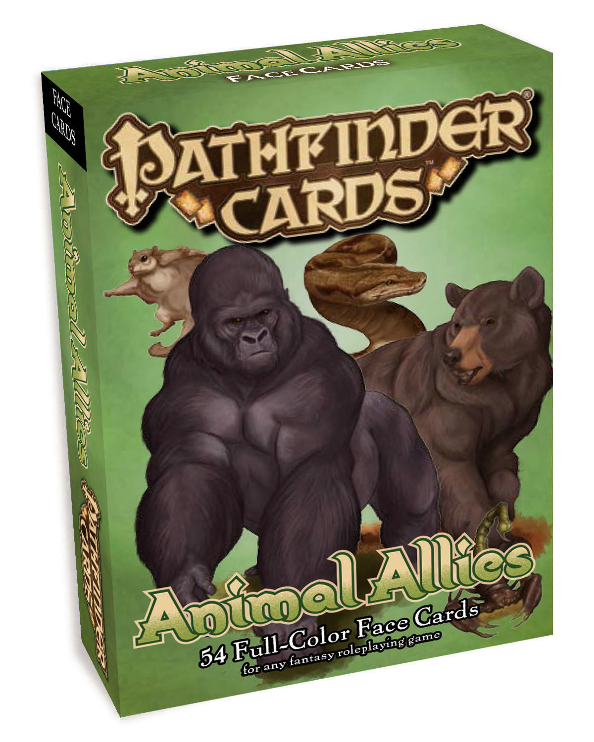 PATHFINDER FACE CARDS ANIMAL ALLIES