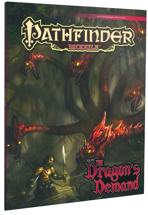 PATHFINDER MODULE DRAGONS DEMAND
