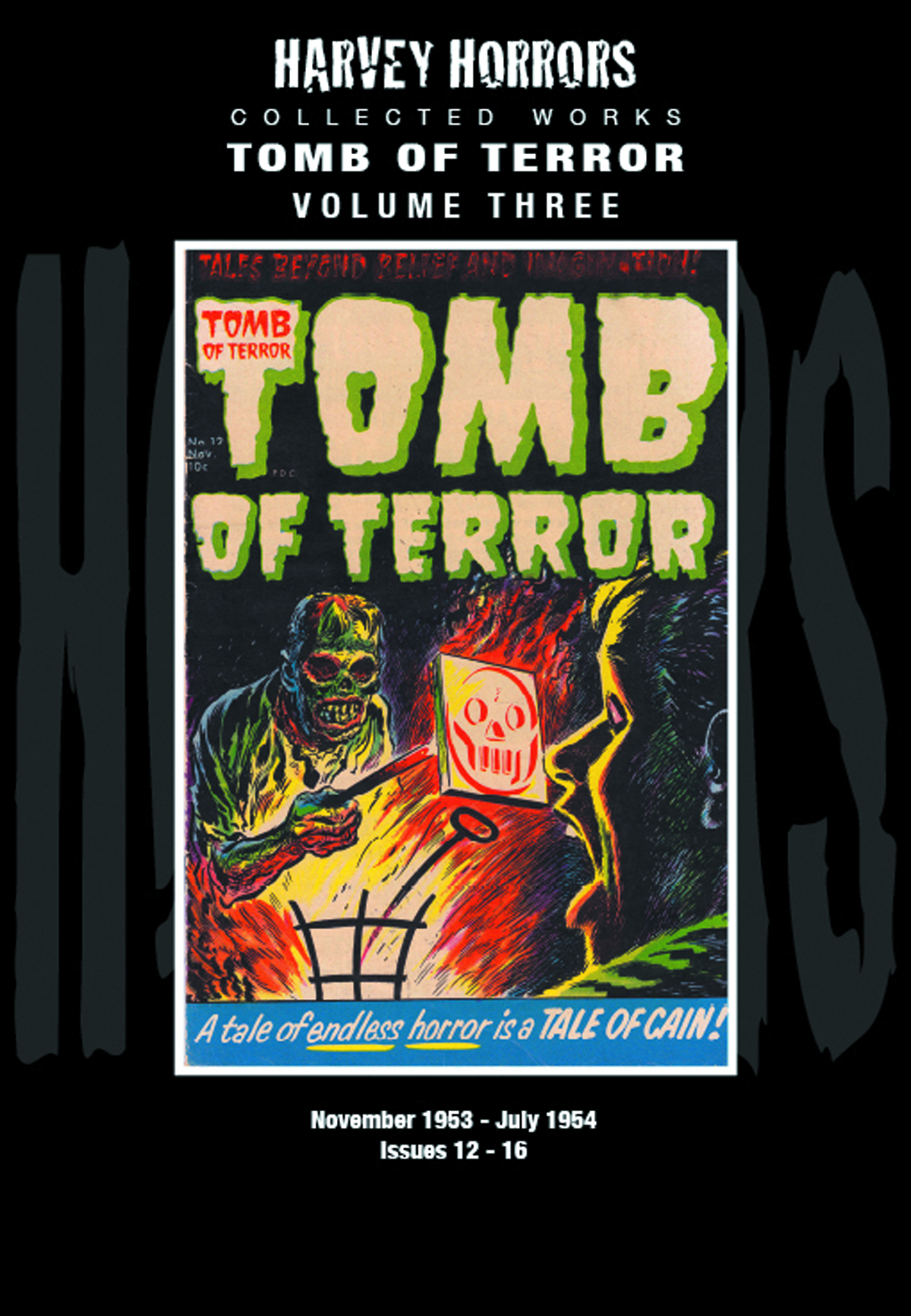 HARVEY HORRORS COLL WORKS TOMB OF TERROR HC VOL 03