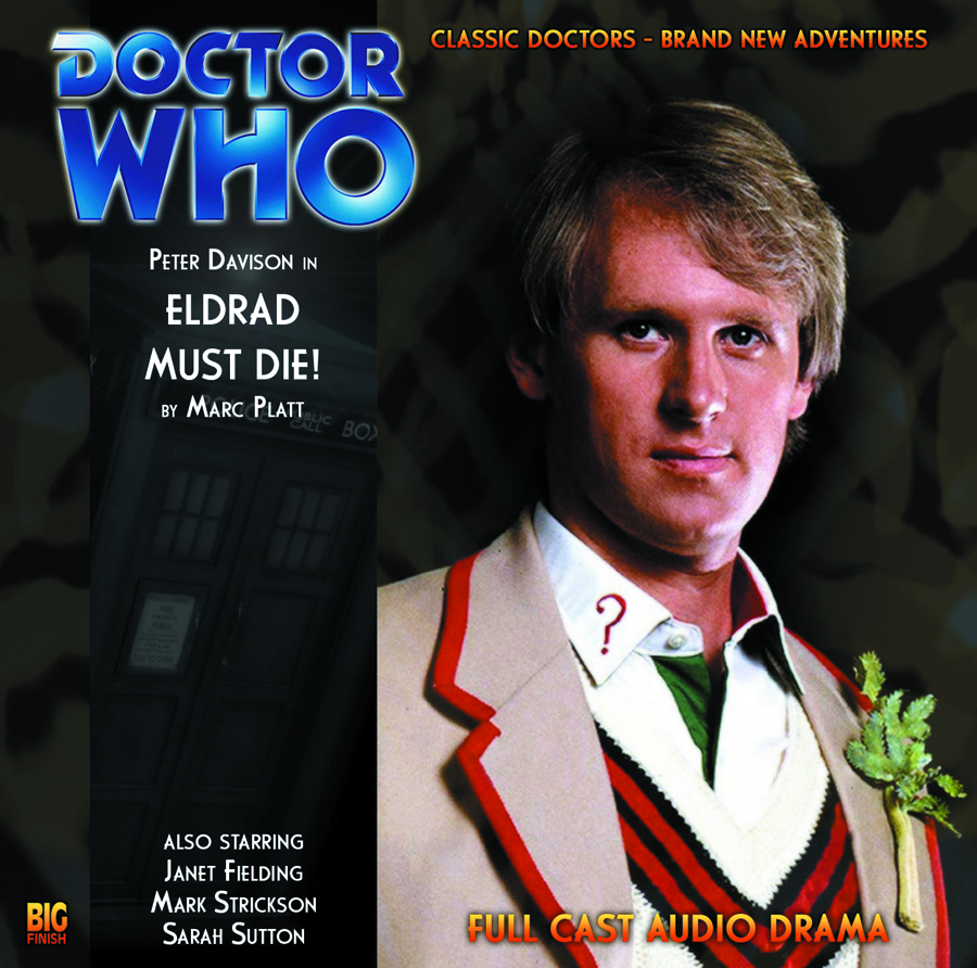 DOCTOR WHO ELDRAD MUST DIE AUDIO CD