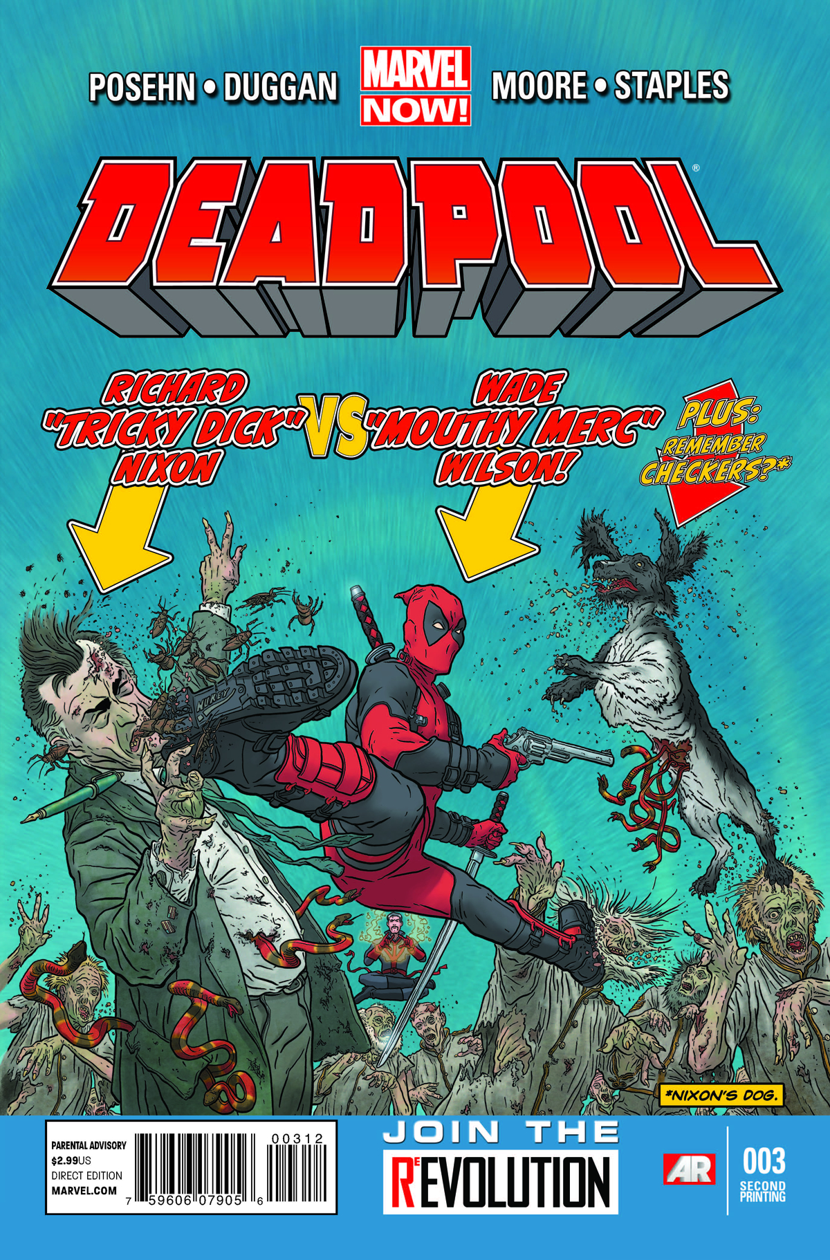 DEADPOOL #3 2ND PTG DARROW VAR