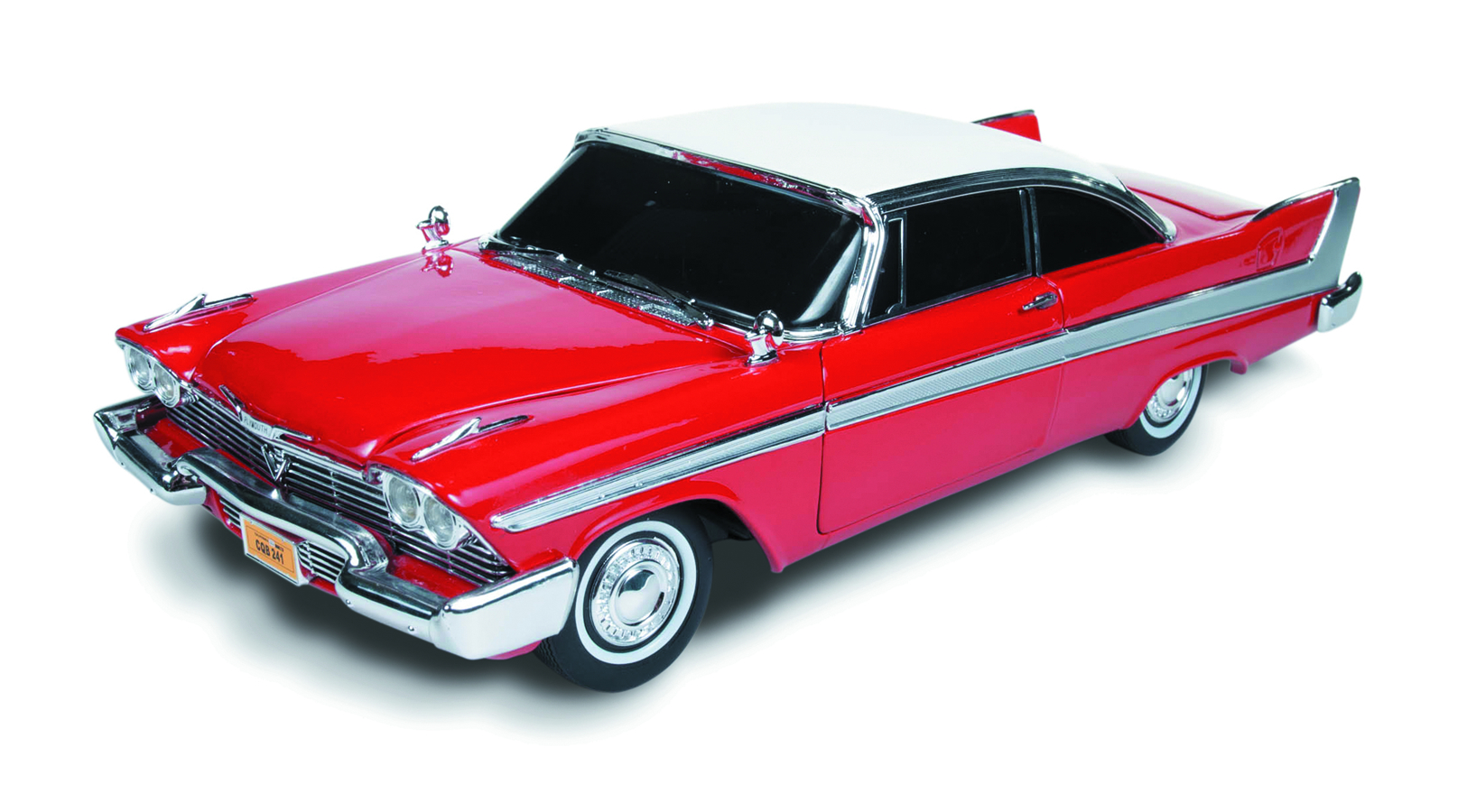 CHRISTINE 58 PLYMOUTH FURY 1/18 DIE-CAST VEHICLE
