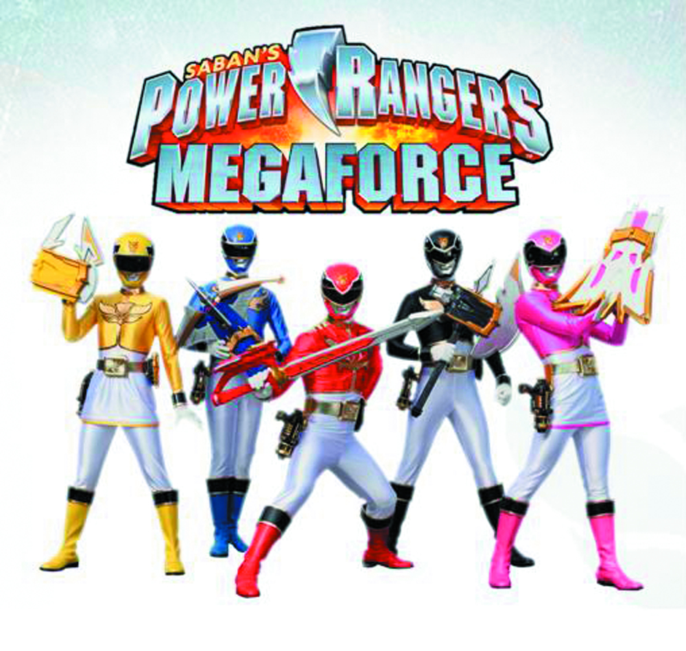 POWER RANGERS MEGAFORCE ARM MIGHT AF ASST