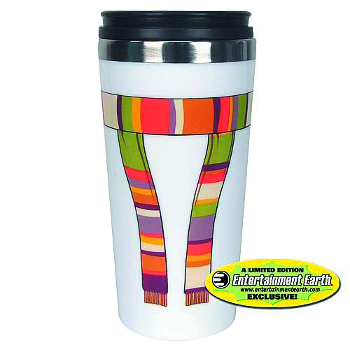 DOCTOR WHO 4TH DOCTOR SCARF TRAVEL MUG