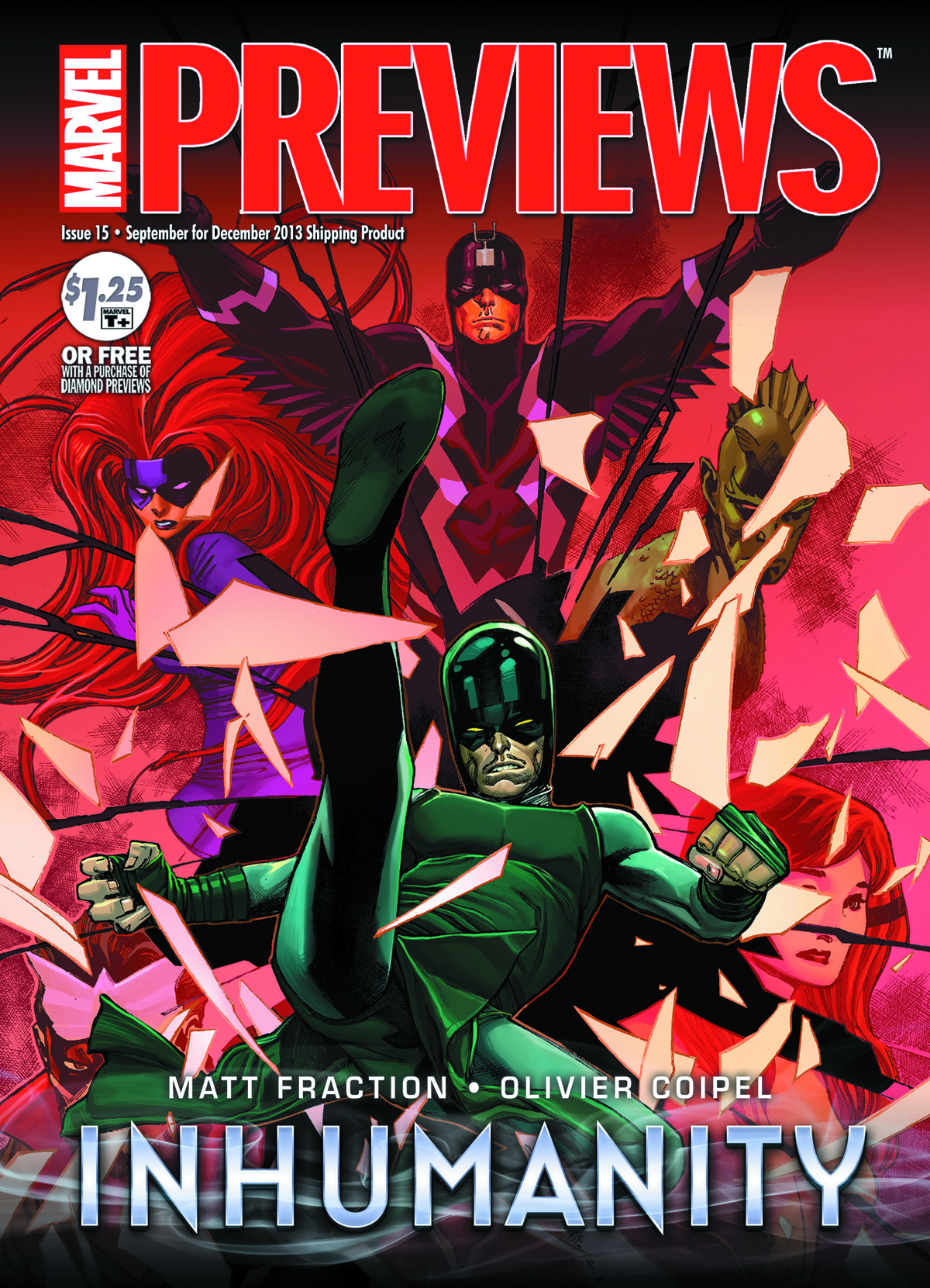 MARVEL PREVIEWS OCTOBER 2013 EXTRAS