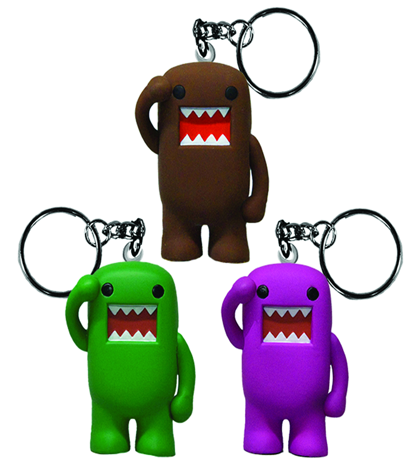 DOMO 2IN KEY RING 48CT ASST
