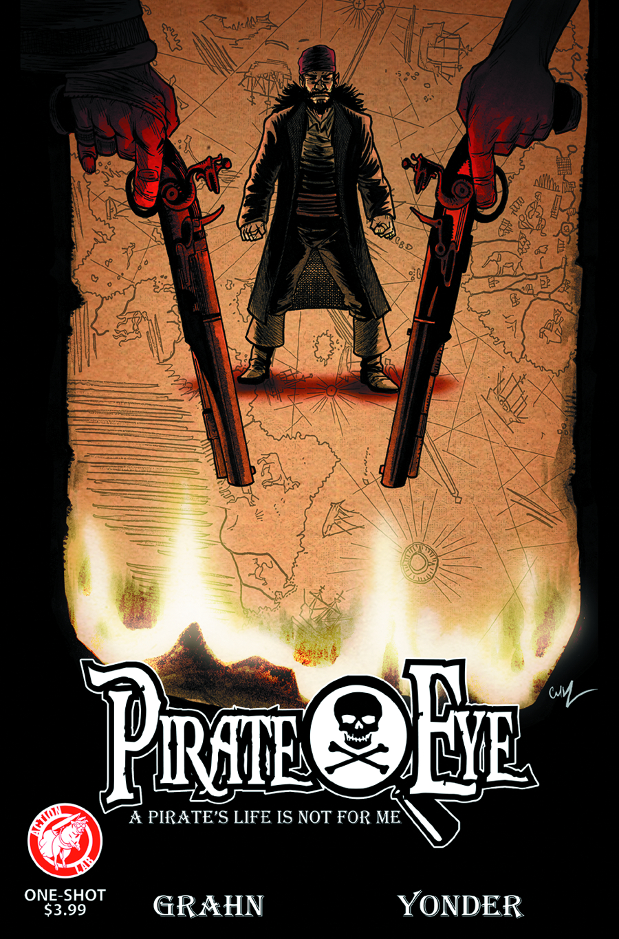PIRATE EYE ONE SHOT PIRATES LIFE