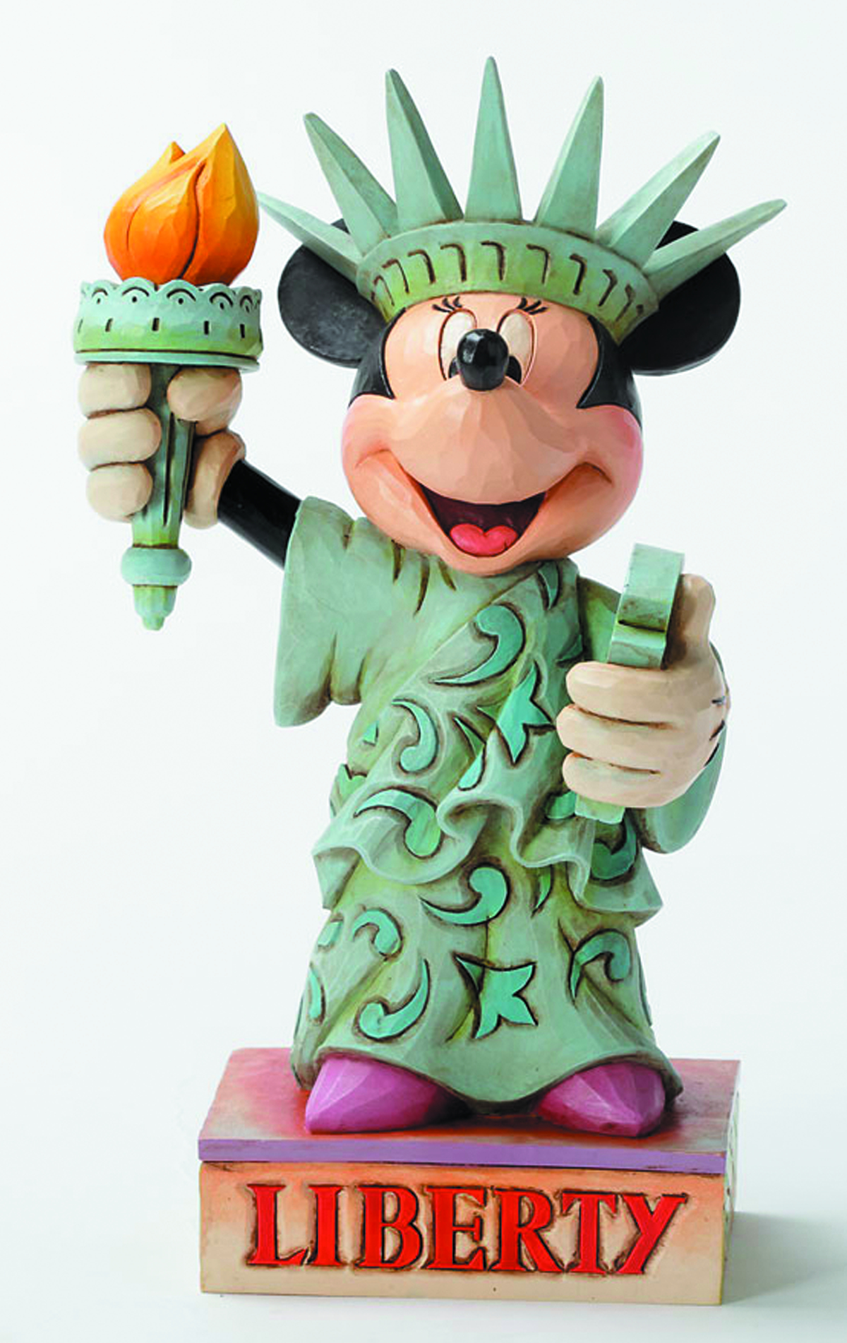 DISNEY TRADITIONS LADY LIBERTY MINNIE