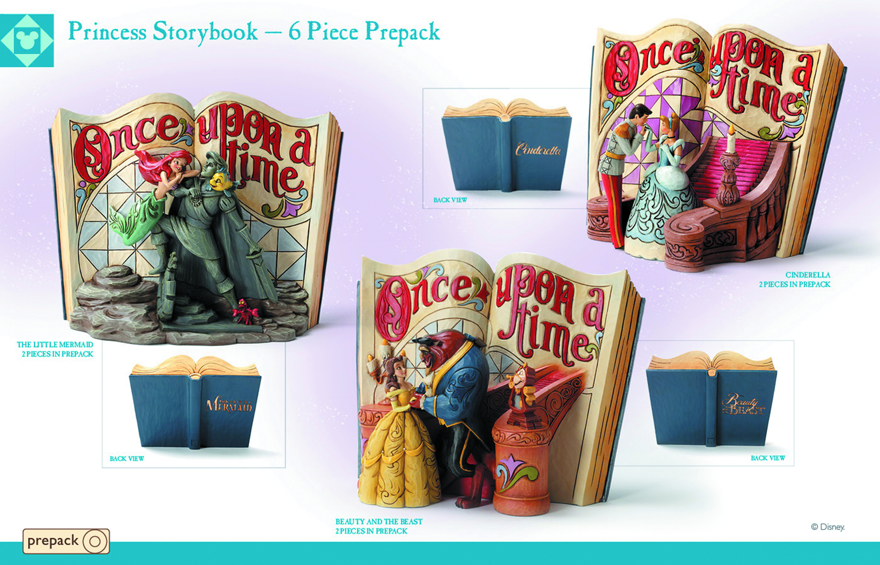 DISNEY TRAD PRINCESS STORYBOOK PPK ASST