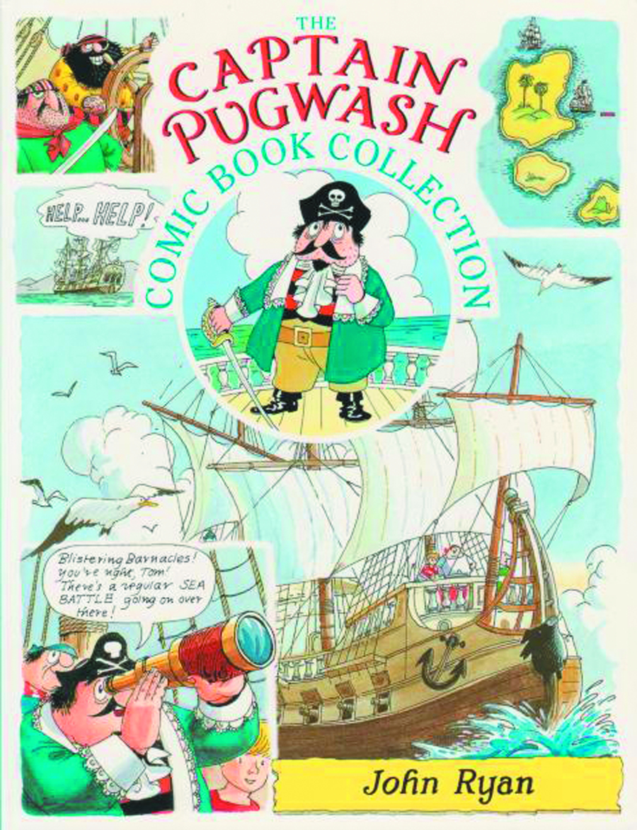 CAPTAIN PUGWASH COMIC BOOK COLL