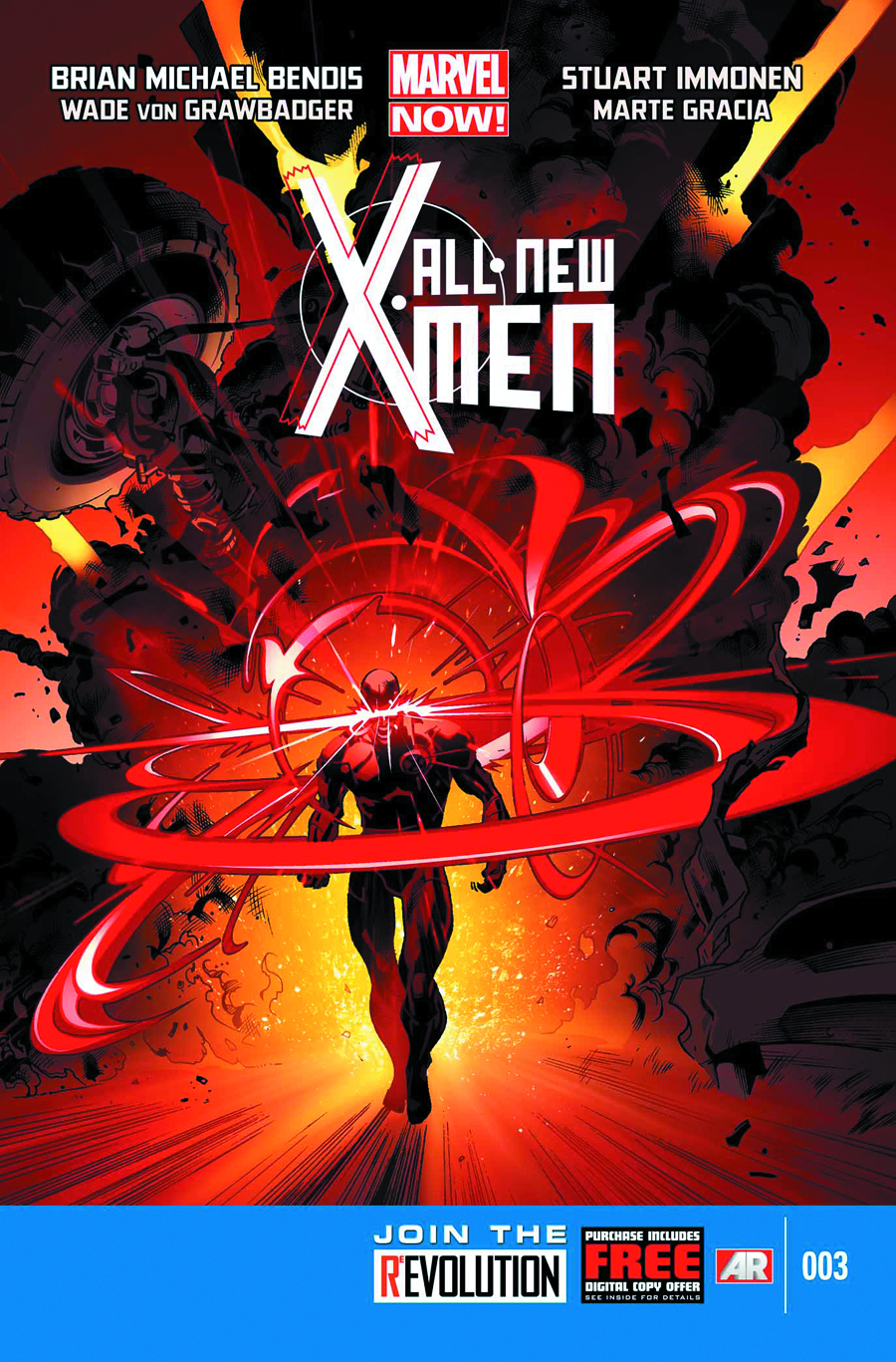 ALL NEW X-MEN #3 2ND PTG IMMONEN VAR NOW (PP #1054)