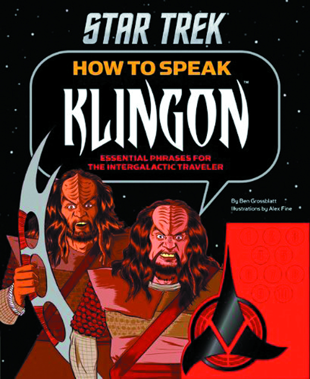 STAR TREK HOW TO SPEAK KLINGON HC