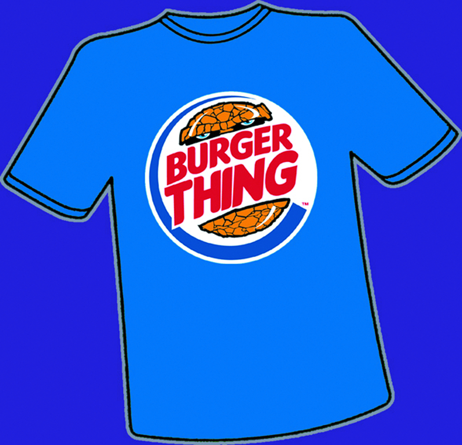 BURGER THING T/S XL