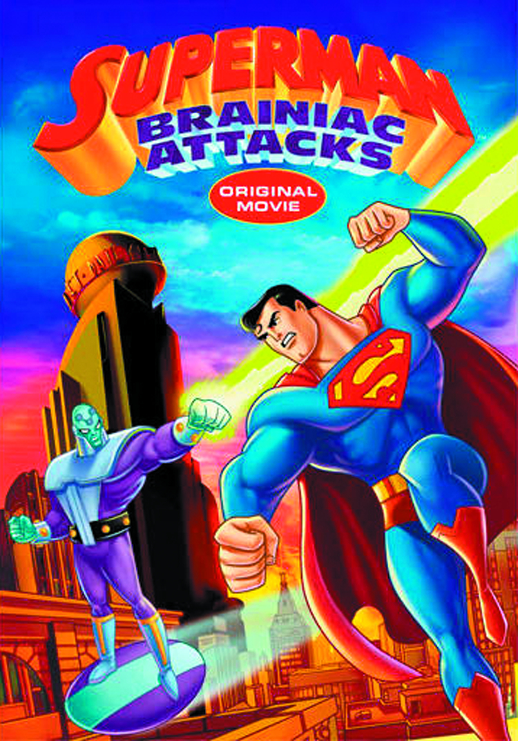 SUPERMAN BRAINIAC ATTACKS BD