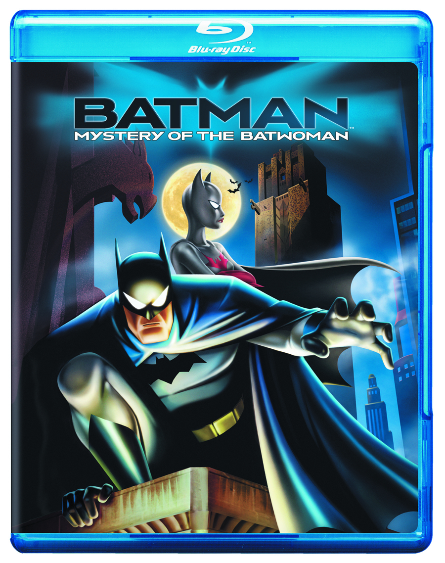BATMAN MYSTERY OF THE BATWOMAN BD