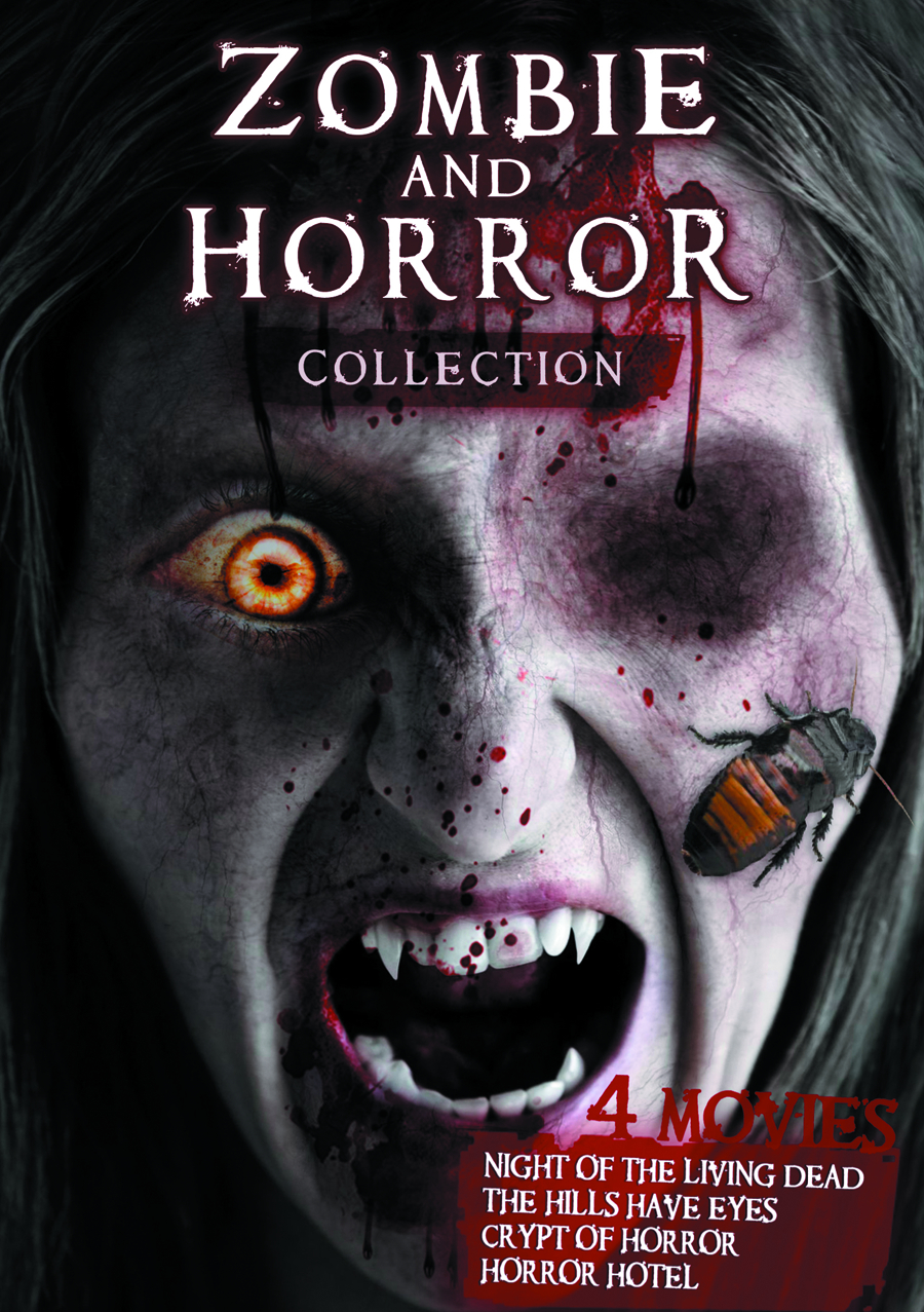 ZOMBIE AND HORROR DVD COLL