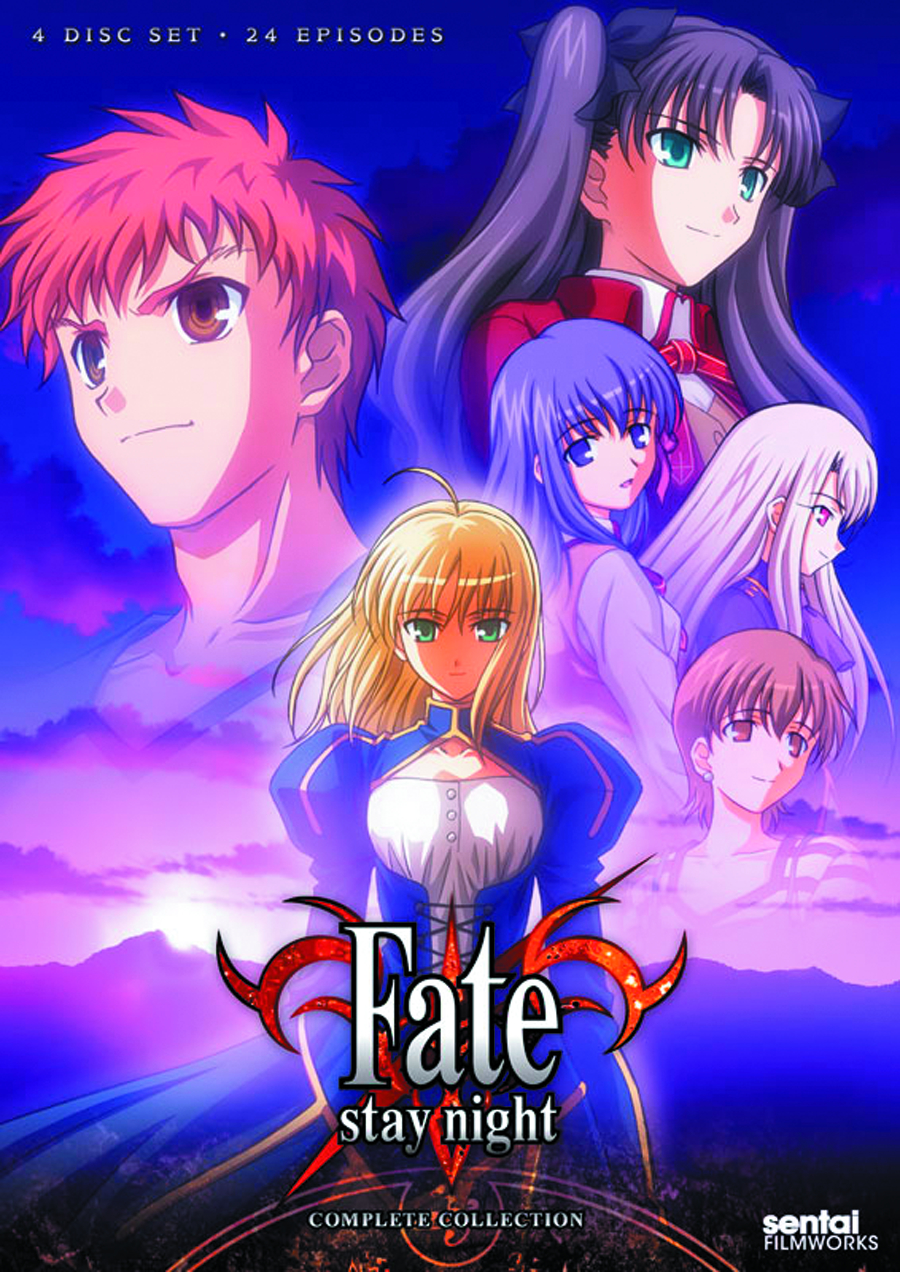 FATE/STAY NIGHT TV COMP COLL DVD