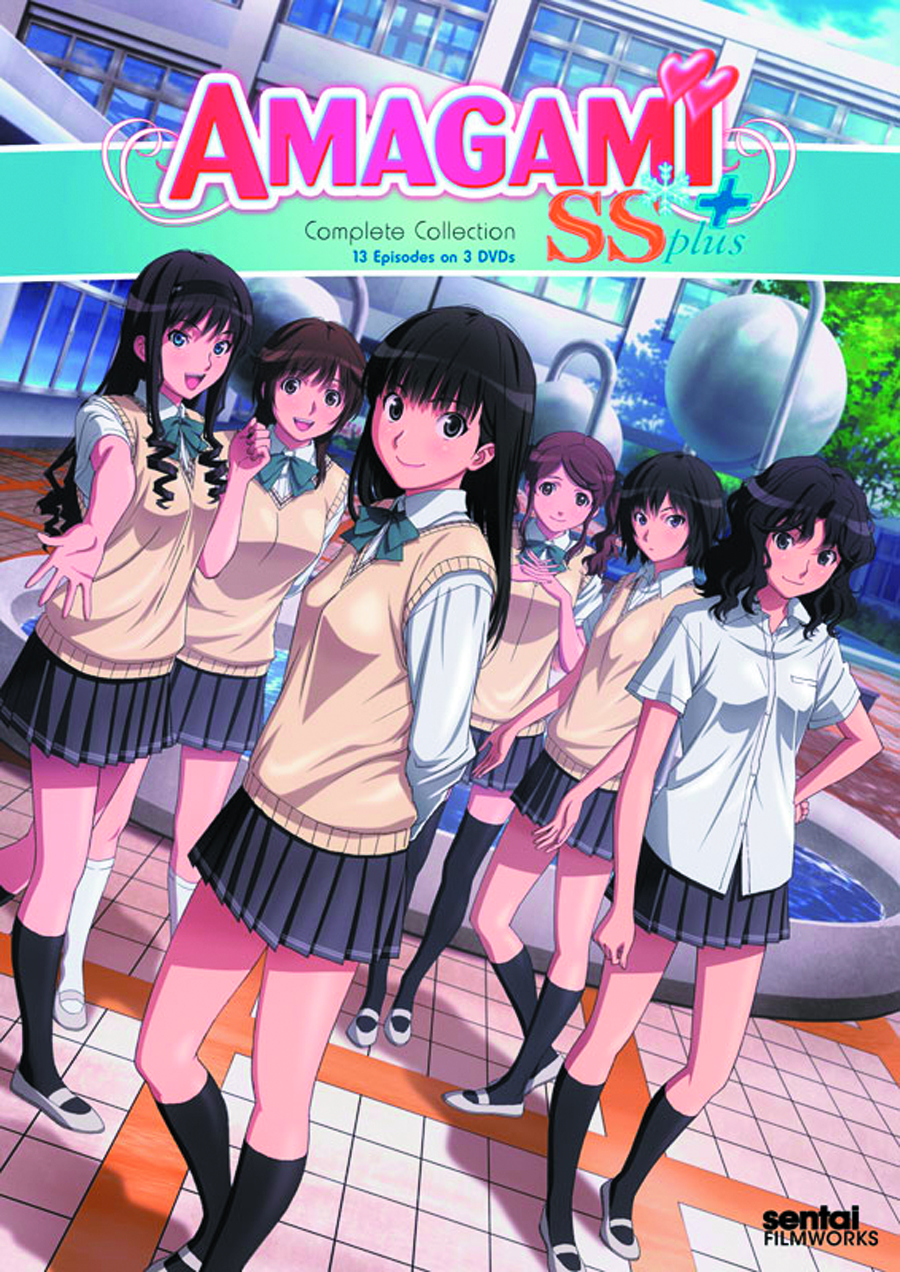 AMAGAMI SS+ COMP COLL DVD