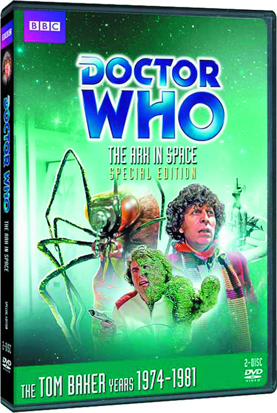 DOCTOR WHO ARK IN SPACE DVD