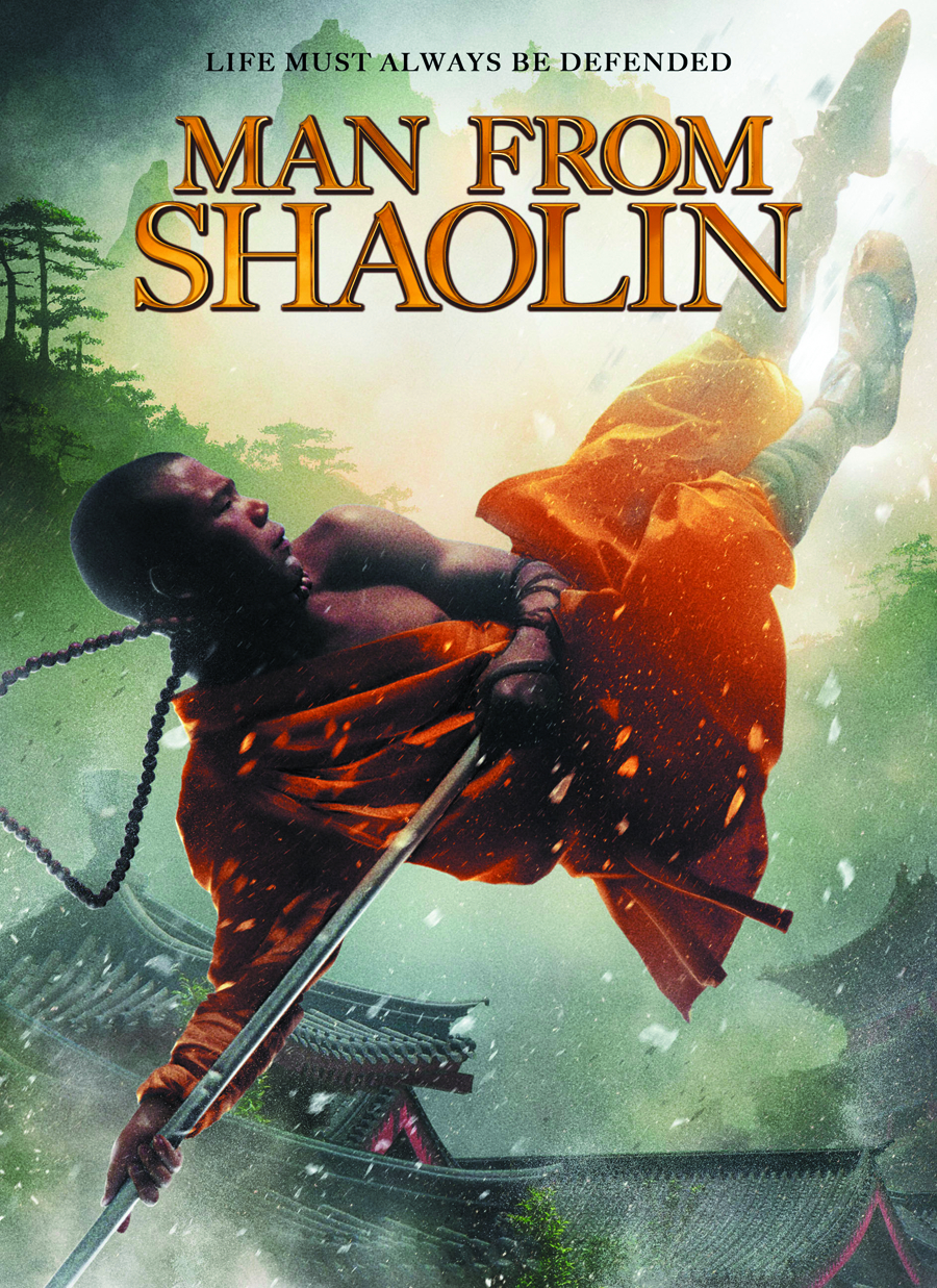 MAN FROM SHAOLIN DVD