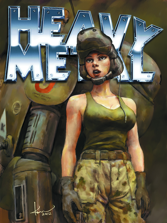 HEAVY METAL #262 NEWSSTAND ED