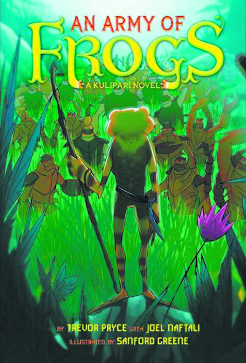 ARMY OF FROGS HC NOVEL VOL 01