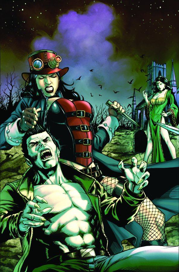 GFT UNLEASHED VAMPIRES ETERNAL #1 (OF 3) A CVR SPAY
