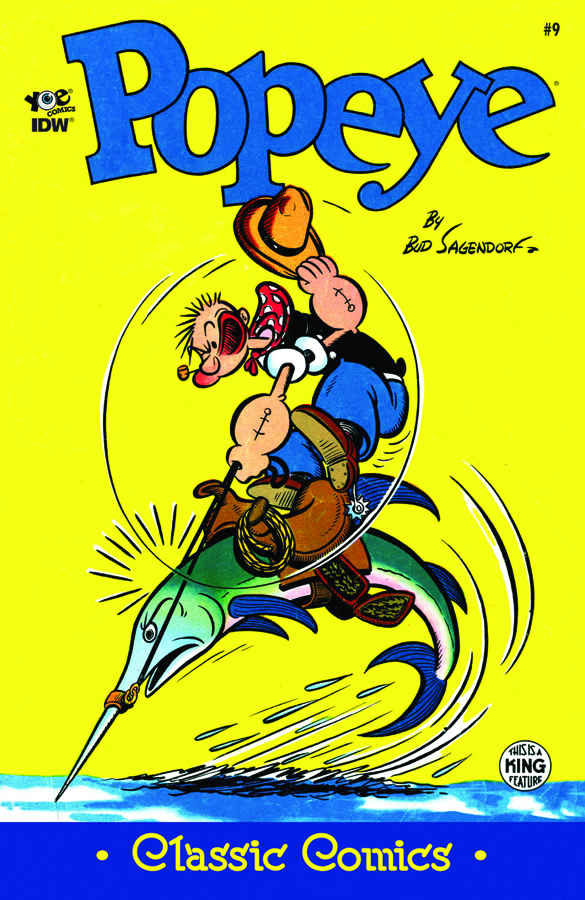 POPEYE CLASSICS ONGOING #9